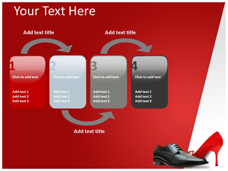 Shoes Powerpoint Templates | Powerpoint Presentation On