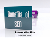SEO Benefits powerPoint template