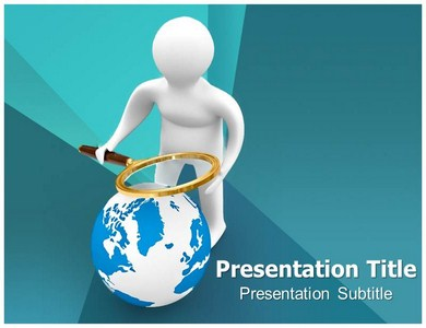 Get Basic Searching Techniques PowerPoint Template with niche background theme  Powerpoint Templates