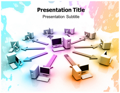 Computer Networking PowerPoint Template | Computer Networking PPT