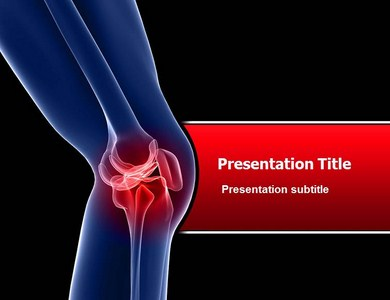 Knee pain powerpointppt templates powerpoint template on knee knee pain powerpoint templates toneelgroepblik Choice Image