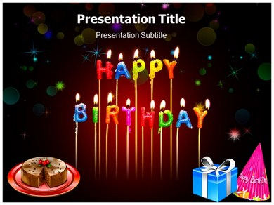 happy birthday powerpoint templates | powerpoint presentation on, Powerpoint templates