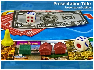 Monopoly Game Powerpoint Templates