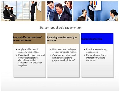 Company workforce Powerpoint Templates