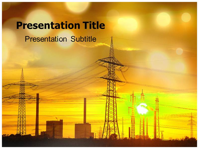 Power system powerpoint templates ppt backgrounds on power system my toneelgroepblik