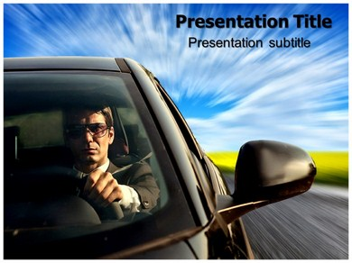Car Driving Powerpoint Templates