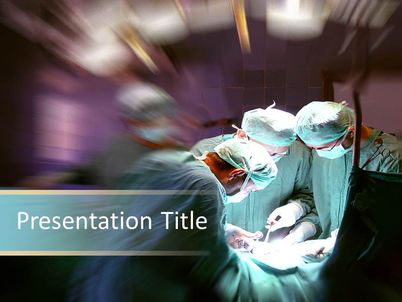 eye catching mac surgical procedure ppt template