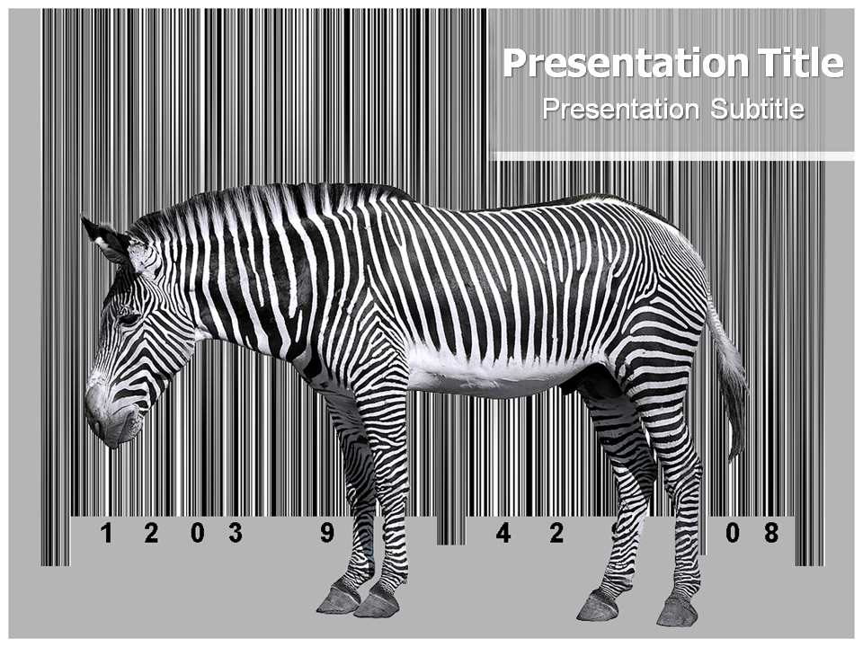 barcode powerpoint templates powerpoint background powerpoint theme
