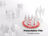 Blog Traffic powerPoint template