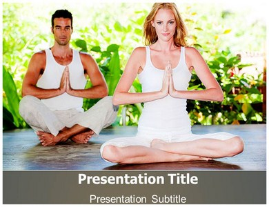Yoga Poses Powerpoint Templates