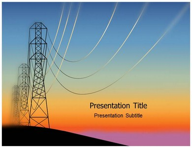 electricity meter powerpoint templates electricity plant ppt
