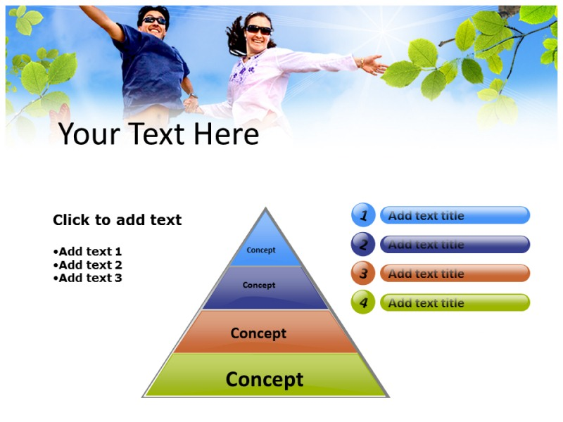 Be Happy Powerpoint Templates