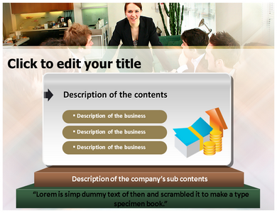 Management Information Powerpoint Templates