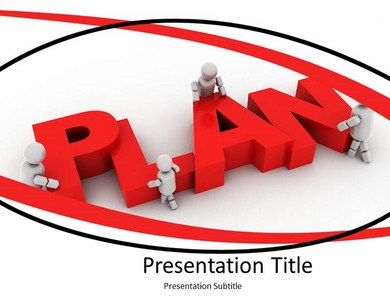 Business Plan Target Powerpoint Templates