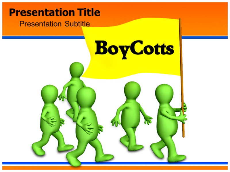 Boy Cotts Powerpoint Templates