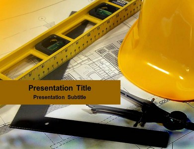 Architectural plan Powerpoint Templates