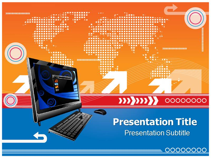 Business Technology Powerpoint Templates