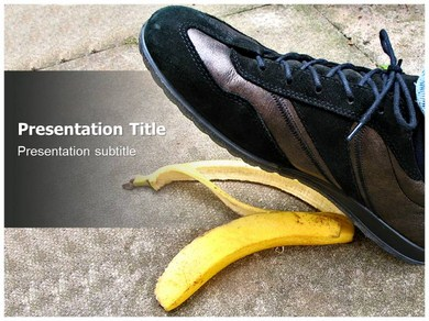 Foot Step Powerpoint Templates