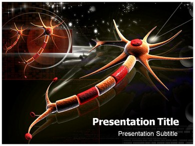 Neuron Parts Powerpoint Templates
