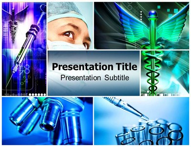 Medical Tourism Powerpoint Templates