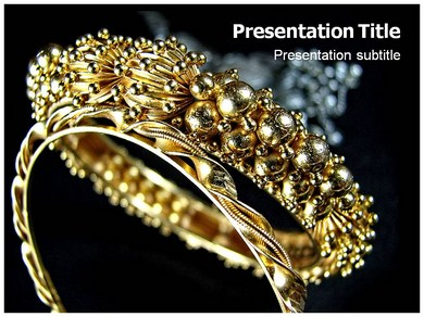 Jewellery Designs Powerpoint Templates