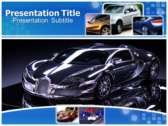 Luxury Vehicle powerPoint template