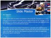 Luxury Vehicle powerPoint templates