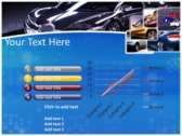 Luxury Vehicle powerpoint theme download