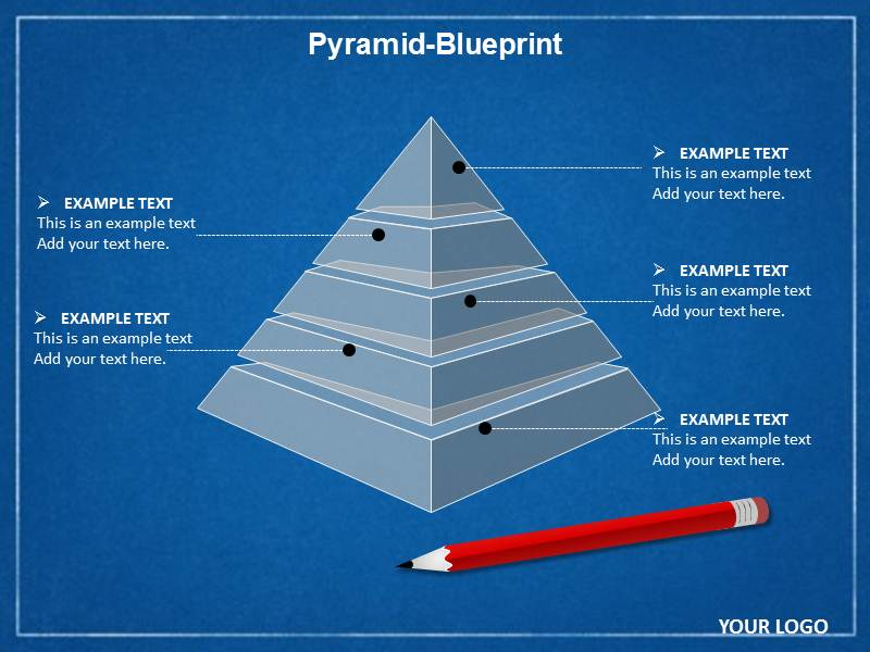 Pyramid Blueprint Chart Powerpoint Template And Theme .