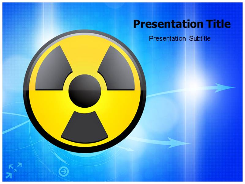 Nuclear powerpoint ppt templates nuclear background template download maxwellsz
