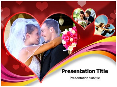 Wedding Suits Powerpoint Templates