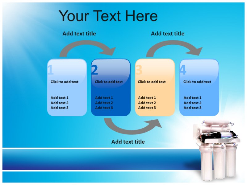 water purifier Powerpoint Templates