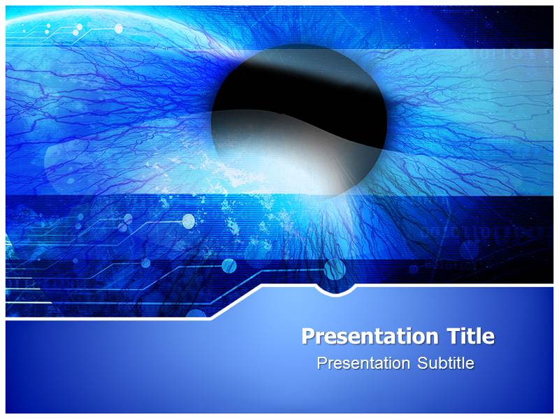Ophthalmology Terms Powerpoint Templates