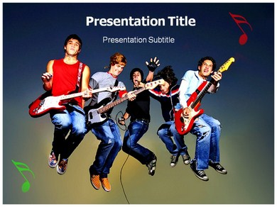 Music Band Powerpoint Templates