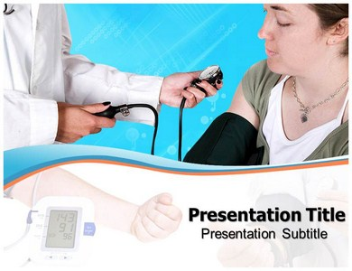 Hypertension Treatment Powerpoint Templates