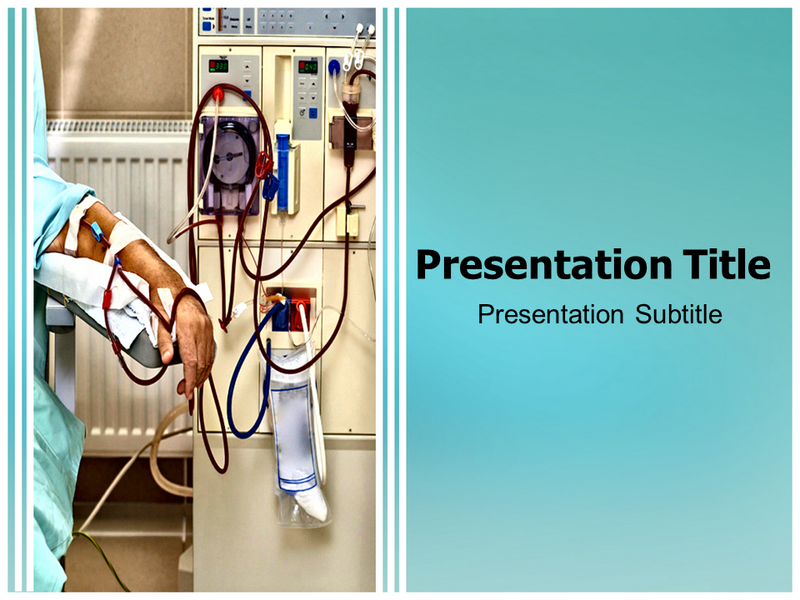 Dialysis Health Care Medicine Kidney Powerpoint Templates