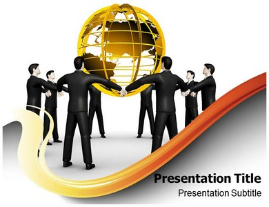 Corporate Social Responsibilities Powerpoint Templates