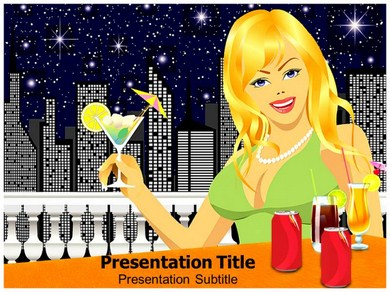 Coca Cola Party Powerpoint Templates