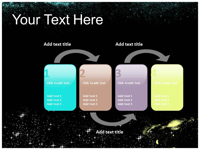 Stars Powerpoint Templates