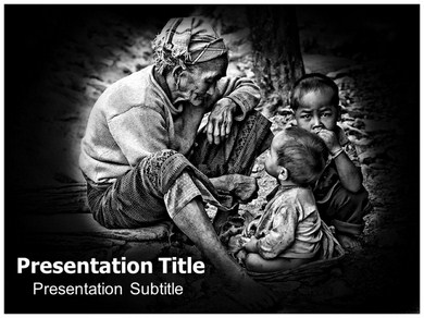 Poverty Details Powerpoint Templates