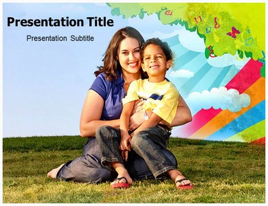 Motherhood Powerpoint Templates