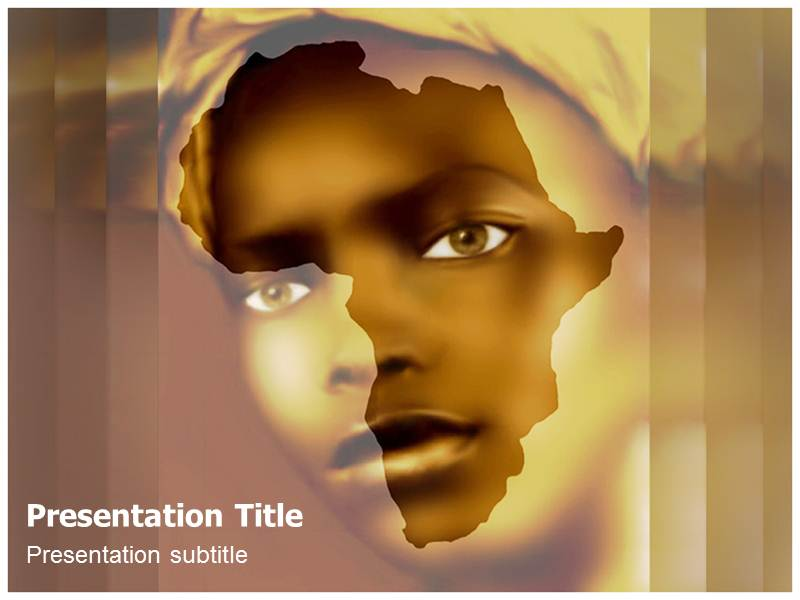 african (ppt)powerpoint templates | ppt templates on african, Modern powerpoint