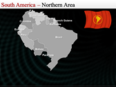 Map of South America  full powerpoint download