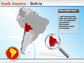 Map of South America  powerPoint Slide Designs