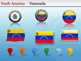 Map of South America  powerPoint backgrounds