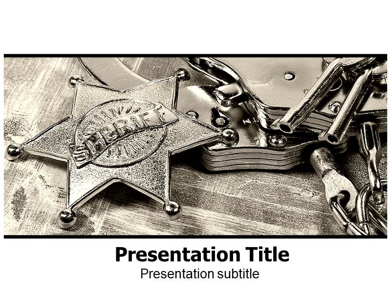 law enforcement prohibition ppt powerpoint template