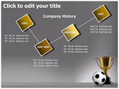 Football Champion powerpoint backgrounds download