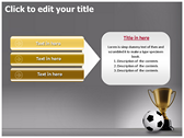 Football Champion power Point Backgrounds