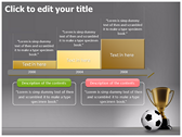 Football Champion powerPoint themes