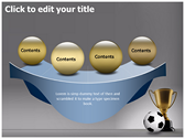 Football Champion powerpoint theme templates